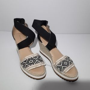 Tommy Hilfiger wedge espadrille sandals